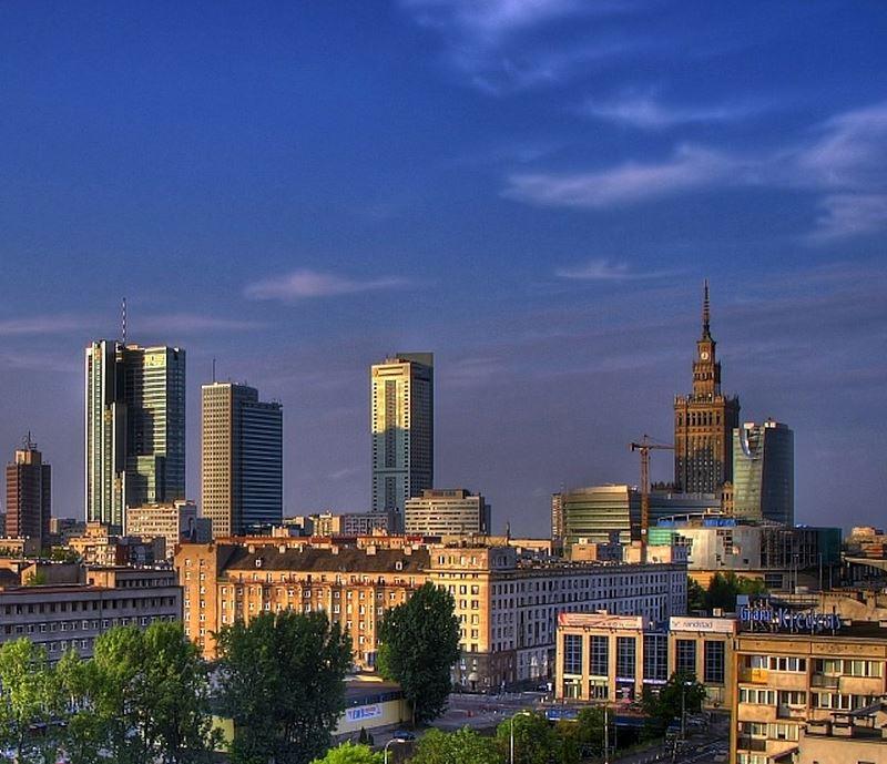 Krajobraz Warszawy